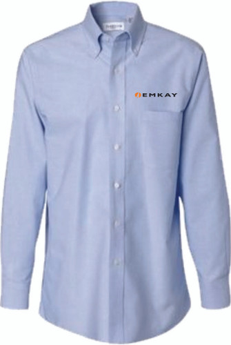 EMKAY Long Sleeve Oxford Shirt - Assorted Colors