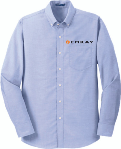 EMKAY Long Sleeve Oxford Shirt Tall Sizes - Assorted Colors