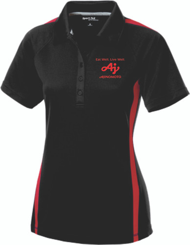 Ajinomoto Micro-Mesh Colorblock Ladies Polo
