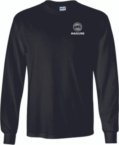 Maguire Cotton Tee Shirt With Pocket - Long Sleeve