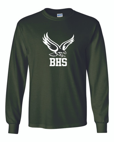 BHS Cotton Long Sleeve - Green