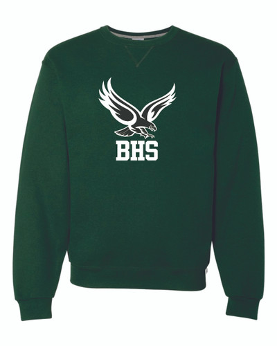 BHS Russell Dri Power Crew Neck Sweatshirt - Green