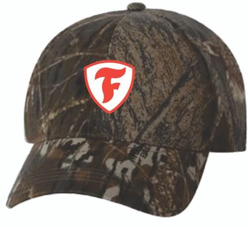 "Firestone Camo ""F"" Shield Hat"