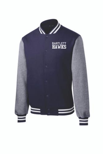 BHS Fleece Letterman Jacket