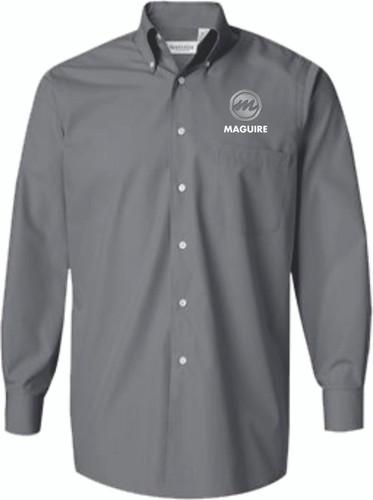 Maguire Long Sleeve Silky Poplin Shirt - Assorted Colors