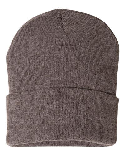 "Sportsman 12"" Solid Knit Beanie"