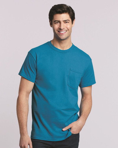 Gildan - Heavy Cotton Pocket T-Shirt