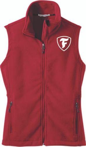 """Firestone """"F"""" Shield Ladies Fleece Vest"""