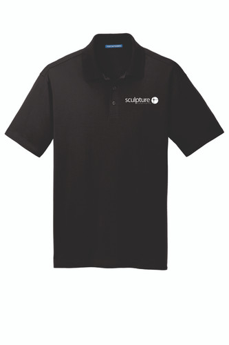 Sculpture Hospitality Port Authority Rapid Dry Mesh Polo
