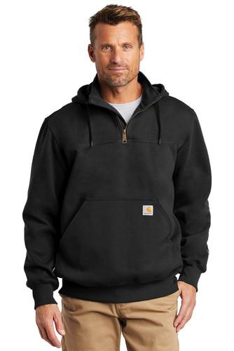 Carhartt Rain Defender Paxton Heavyweight Hooded Zip Mock Sweatshirt