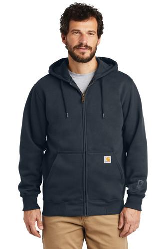 Carhartt Rain Defender Paxton Heavyweight Hooded Zip-Front Sweatshirt
