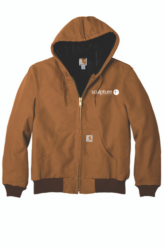 Sculpture Hospitality Carhartt  Quilted-Flannel-Lined Duck Active Jac