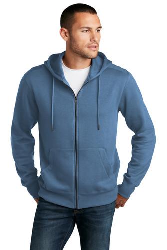 District Perfect Weight Fleece Full-Zip Hoodie