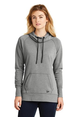 New Era Ladies Tri-Blend Fleece Pullover Hoodie