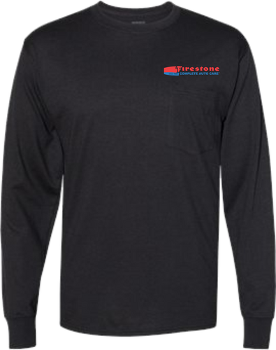 Firestone Workwear Long Sleeve Pocket T-Shirt  - Assorted Colors
