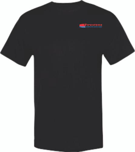 Firestone Short Sleeve T-Shirt with FIRESTONE on back