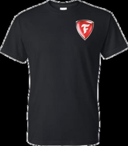 Firestone F Shield Short Sleeve T-Shirt with FIRESTONE on back