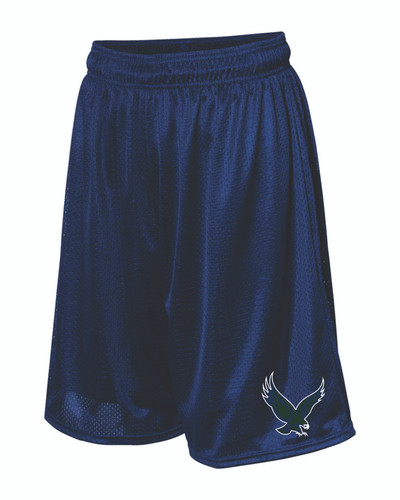 "BHS Russell Athletic - 9"" Tricot Mesh Shorts"