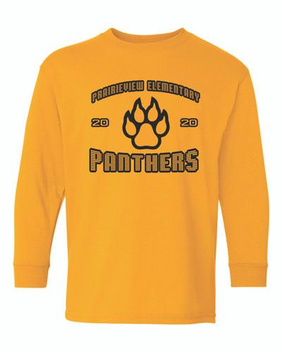 Prairieview Elementary Gildan Long Sleeve Shirt - Youth