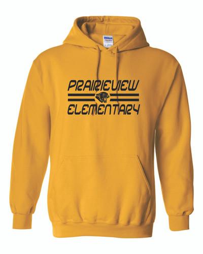 Prairieview Elementary Gildan Hooded Sweatshirt