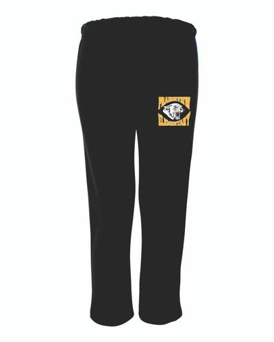 Prairieview Elementary Gildan  Open-Bottom Sweatpants