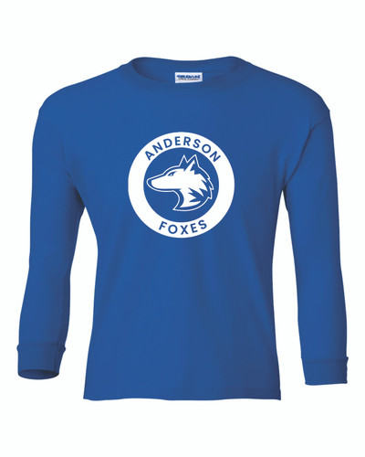 Anderson Elementary Youth Long Sleeve T-Shirt