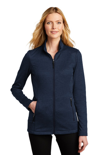 Port Authority Ladies Collective Striated Fleece Jacket