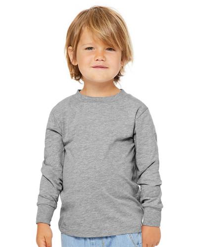 BELLA + CANVAS - Toddler Jersey Long Sleeve Tee