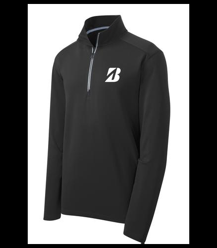 "Bridgestone Textured 1/4-Zip Pullover ""B"""