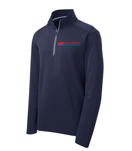 Firestone Complete Auto Care Textured 1/4-Zip Pullover