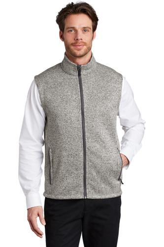 Port Authority ® Sweater Fleece Vest