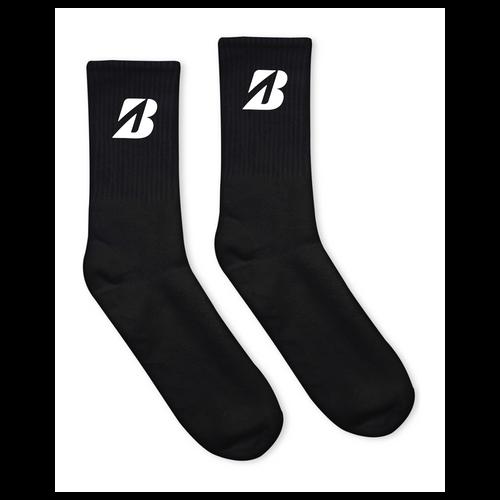 Bridgestone USA-Made Solid Crew Socks