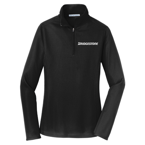 Bridgestone Ladies Pinpoint Mesh 1/2-Zip