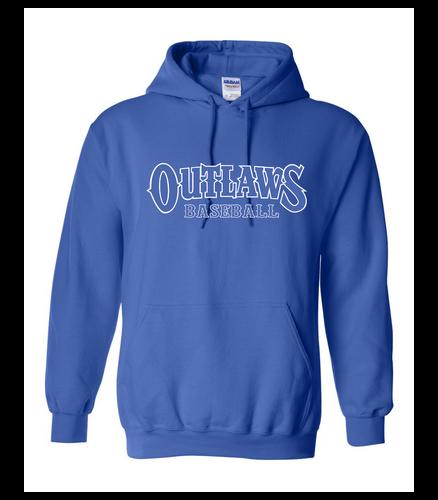 Outlaws Baseball Gildan - Heavy Blend Hooded Sweatshirt