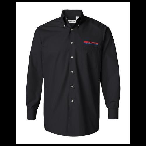 Firestone Van Heusen - Silky Poplin Shirt
