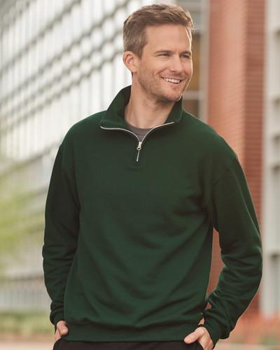 JERZEES - Nublend® Cadet Collar Quarter-Zip Sweatshirt