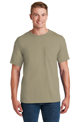 JERZEES® - Dri-Power® Active 50/50 Cotton/Poly Pocket T-Shirt