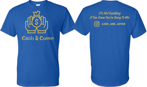 Cash & Cover Tee Shirt - Assorted Colors