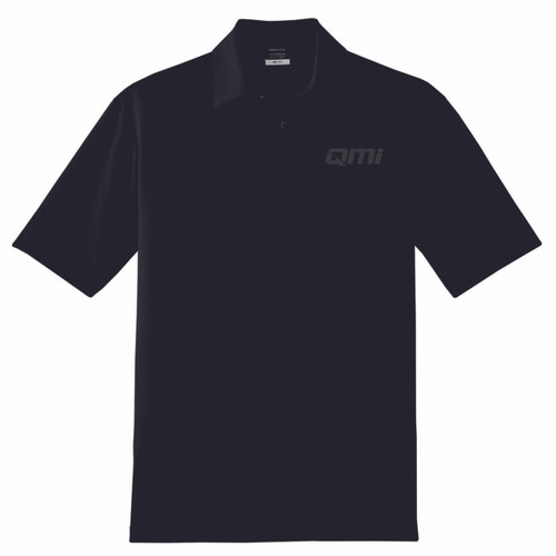 QMI Nike Elite Series Polo - One Color Tone On Tone Logo