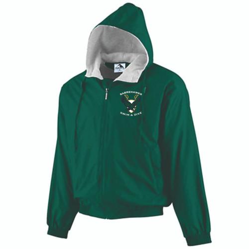 Sabrehawks Hooded Fleece Lined Jacket