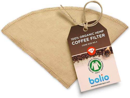 Organic Hemp Reusable Coffee Filter