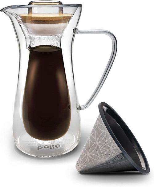 Bolio 6C Coffee Decanter with Titanium Filter