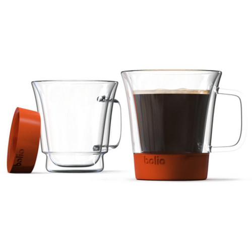 Bolio - Insulated Coffee Mug - Red