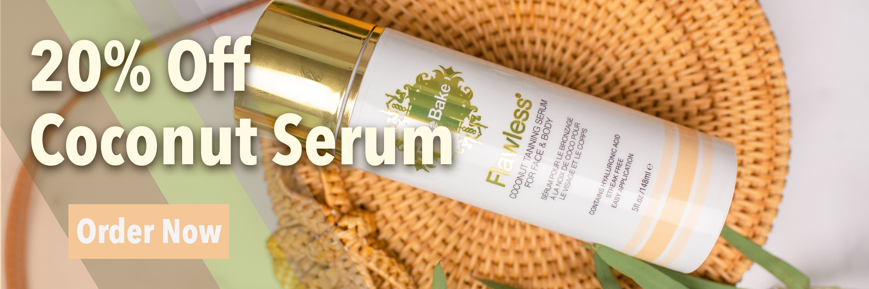 20% Off Coconut Serum