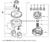 Parts lookup Shindaiwa T231 Trimmer Head 78890 30000 diagram