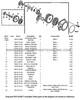 Parts lookup Shindaiwa T230XR Starter P021034871 OEM diagram