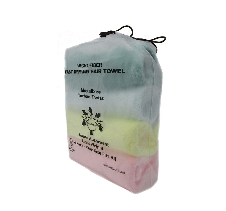Azo-Free  Mogalixe® Microfiber Hair Towel