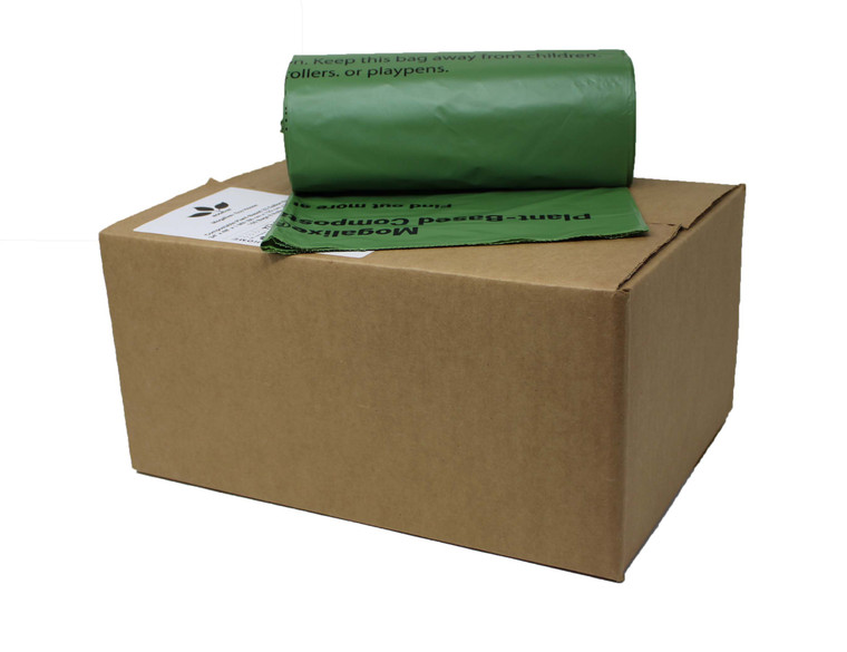 compostable bags 33 galllon