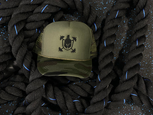 Camouflage IP Signature Trucker Hat