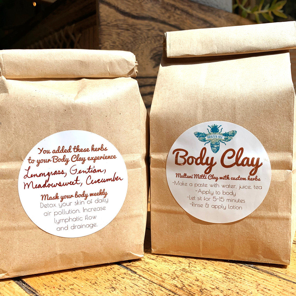 Clay BODY MASK- Customized| MASKS